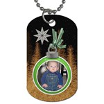 Christmas Star 2-sided Dog Tag - Dog Tag (Two Sides)