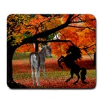 Fall scene mousepad - Collage Mousepad