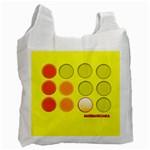 Bolsa - Circles - Recycle Bag (One Side)