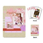flower kids - Playing Cards Single Design