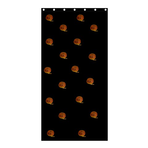 Cortina   Halloween By Matematicaula   Shower Curtain 36  X 72  (stall)   V7afxsna2vh6   Www Artscow Com 33.26 x66.24 Curtain