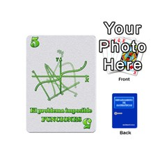 Jack Departamento De Matemáticas   Minicards By Matematicaula   Playing Cards 54 (mini)   1w65zakfp0g4   Www Artscow Com Front - ClubJ