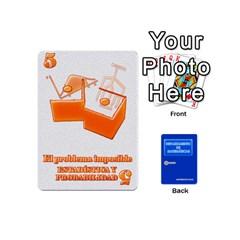 Queen Departamento De Matemáticas   Minicards By Matematicaula   Playing Cards 54 (mini)   1w65zakfp0g4   Www Artscow Com Front - ClubQ