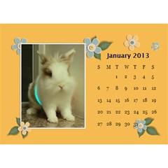 Calender2013 By Posche Wong   Desktop Calendar 8 5  X 6    Scnv7r09lk1o   Www Artscow Com Jan 2013