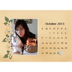 Calender2013 By Posche Wong   Desktop Calendar 8 5  X 6    Scnv7r09lk1o   Www Artscow Com Oct 2013