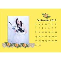 Calender2013 By Posche Wong   Desktop Calendar 8 5  X 6    Scnv7r09lk1o   Www Artscow Com Sep 2013
