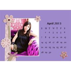 Calender2013 By Posche Wong   Desktop Calendar 8 5  X 6    Z0zi5req3vor   Www Artscow Com Apr 2013