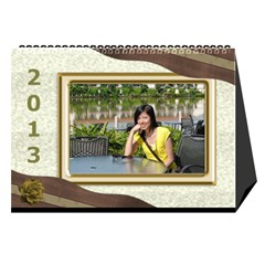 Fanny2013 By Posche Wong   Desktop Calendar 8 5  X 6    3lp6mf8admjb   Www Artscow Com Cover