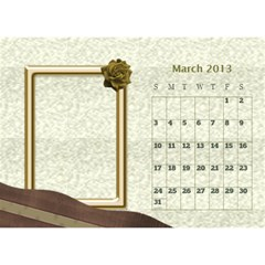Fanny2013 By Posche Wong   Desktop Calendar 8 5  X 6    3lp6mf8admjb   Www Artscow Com Mar 2013