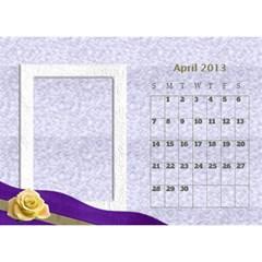 Fanny2013 By Posche Wong   Desktop Calendar 8 5  X 6    3lp6mf8admjb   Www Artscow Com Apr 2013