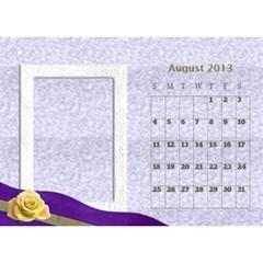 Fanny2013 By Posche Wong   Desktop Calendar 8 5  X 6    3lp6mf8admjb   Www Artscow Com Aug 2013