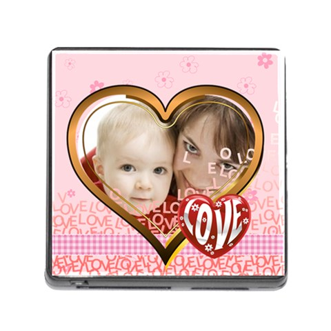 Love By Joely   Memory Card Reader (square)   2kqep8av9mn3   Www Artscow Com Front