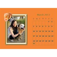 Fanny2013 By Posche Wong   Desktop Calendar 8 5  X 6    Cn98mzoffea5   Www Artscow Com Mar 2013