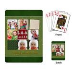 xmas - Playing Cards Single Design