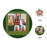 xmas - Playing Cards (Round)