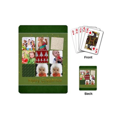Xmas By Mac Book   Playing Cards (mini)   2xip0h6zsrd1   Www Artscow Com Back