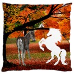 Autumn scene Large Cushion (2 Sides) - Large Cushion Case (Two Sides)