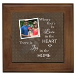 Home Framed Tile