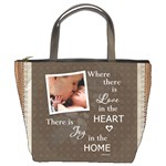 Love in Home Bucket Bag