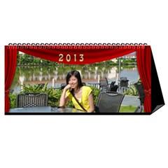 Fanny2 By Posche Wong   Desktop Calendar 11  X 5    35vqbd9naukc   Www Artscow Com Cover