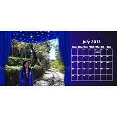 Fanny2 By Posche Wong   Desktop Calendar 11  X 5    35vqbd9naukc   Www Artscow Com Jul 2013