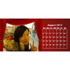 Fanny2 By Posche Wong   Desktop Calendar 11  X 5    35vqbd9naukc   Www Artscow Com Aug 2013