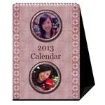 fanny3 - Desktop Calendar 6  x 8.5