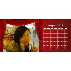 Fanny2 By Posche Wong   Desktop Calendar 11  X 5    Ha4k2qhc2pi0   Www Artscow Com Aug 2013