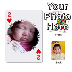 1 By Jenqyeu1   Playing Cards 54 Designs   F3u68ygw80e4   Www Artscow Com Front - Heart2