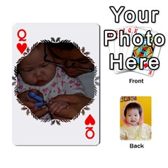 Queen 1 By Jenqyeu1   Playing Cards 54 Designs   F3u68ygw80e4   Www Artscow Com Front - HeartQ