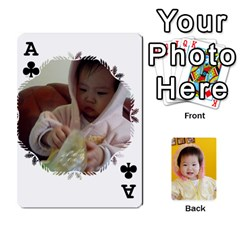 Ace 1 By Jenqyeu1   Playing Cards 54 Designs   F3u68ygw80e4   Www Artscow Com Front - ClubA