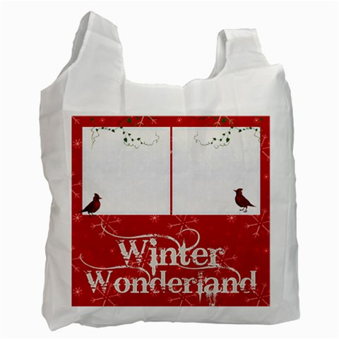 Cardinals Recycle Bag By Catvinnat   Recycle Bag (one Side)   Oiwqzk9mr4y0   Www Artscow Com Front