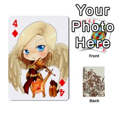 League Cards :d By Keane   Playing Cards 54 Designs   W07dphokiou1   Www Artscow Com Front - Diamond4