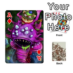 Ace League Cards :d By Keane   Playing Cards 54 Designs   W07dphokiou1   Www Artscow Com Front - DiamondA