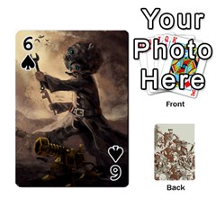 League Cards :d By Keane   Playing Cards 54 Designs   W07dphokiou1   Www Artscow Com Front - Spade6