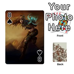 League Cards :d By Keane   Playing Cards 54 Designs   W07dphokiou1   Www Artscow Com Front - Spade8