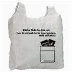 Bolsa - Descartes - Recycle Bag (One Side)