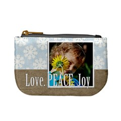 Xmas By M Jan   Mini Coin Purse   Jnr1azefdgw7   Www Artscow Com Front