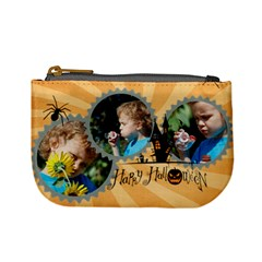 Halloween By M Jan   Mini Coin Purse   2svv6z4jv2ni   Www Artscow Com Front