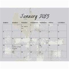 2013* By Kelsey   Wall Calendar 11  X 8 5  (12 Months)   D94hjmw95x0r   Www Artscow Com Jan 2013
