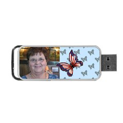 Butterfly Portable Usb 2 Sides By Kim Blair   Portable Usb Flash (two Sides)   Tgvxshd9zg5s   Www Artscow Com Back