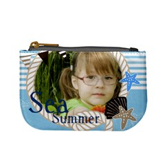 Sea Summer By Mac Book   Mini Coin Purse   K8adw4366ftx   Www Artscow Com Front