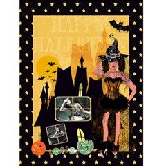 Halloween Card By Claire Mcallen   Greeting Card 4 5  X 6    Medqgbbuw36g   Www Artscow Com Front Cover