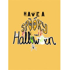 Halloween Card By Claire Mcallen   Greeting Card 4 5  X 6    Medqgbbuw36g   Www Artscow Com Back Inside