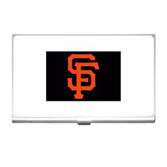 Sf Giants Logo Business Card Holder by tammystotesandtreasures