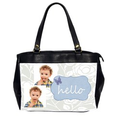 Xmas By Jo Jo   Oversize Office Handbag (2 Sides)   Mtni8wgdvrlm   Www Artscow Com Front