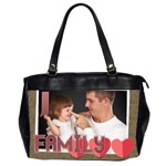 xmas - Oversize Office Handbag (2 Sides)