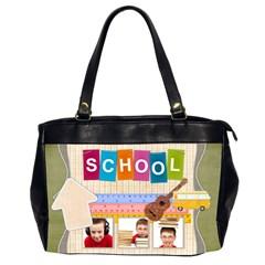 School By Jo Jo   Oversize Office Handbag (2 Sides)   Ekt18jqpafzh   Www Artscow Com Front