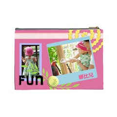 包 By 陳靖元   Cosmetic Bag (large)   Whjmfmle95j5   Www Artscow Com Back