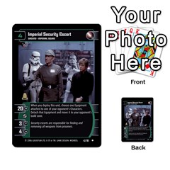 Star Wars Tcg Iii By Jaume Salva I Lara   Multi Purpose Cards (rectangle)   Yc4kan8f88nv   Www Artscow Com Front 2
